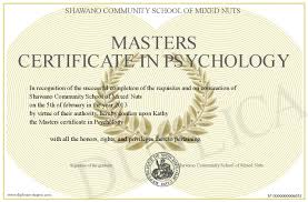 Psychology masters thesis